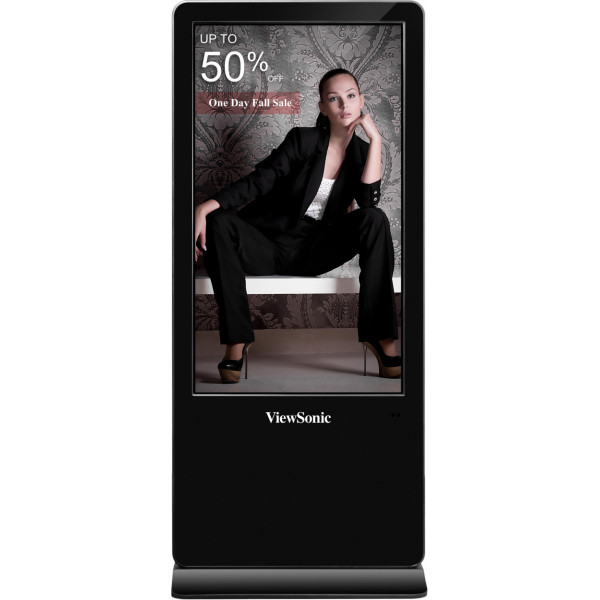 ViewSonic kiosk Multi-Touch ePoster zuil